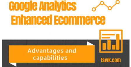 google analytics enhanced ecommerce - Advantages