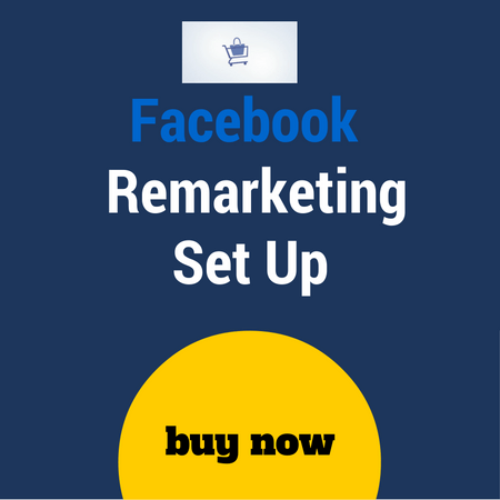 Facebook reamrketing set up