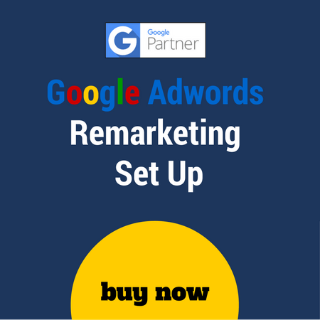 Google remarketing set up