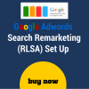 Search remarketing set up