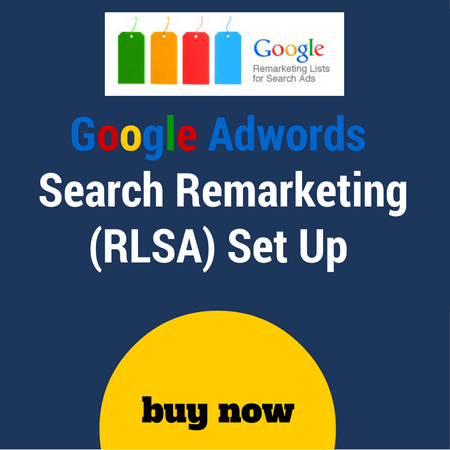 search remarketing set up (s)