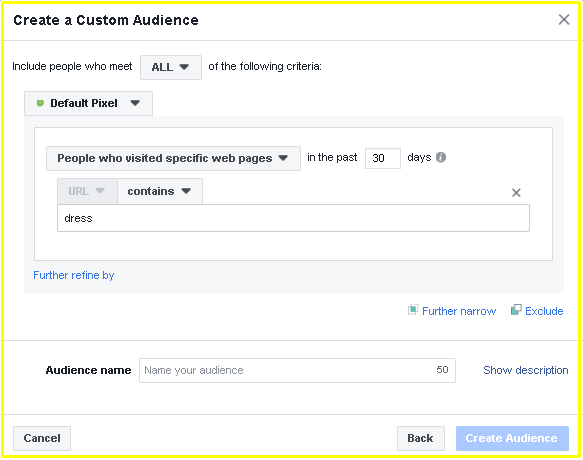 Create a Custom Audience on Facebook