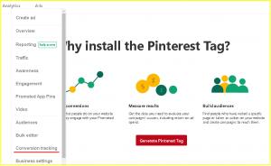 Pinterest Pixel