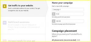 Pinterest Remarketing Campaign