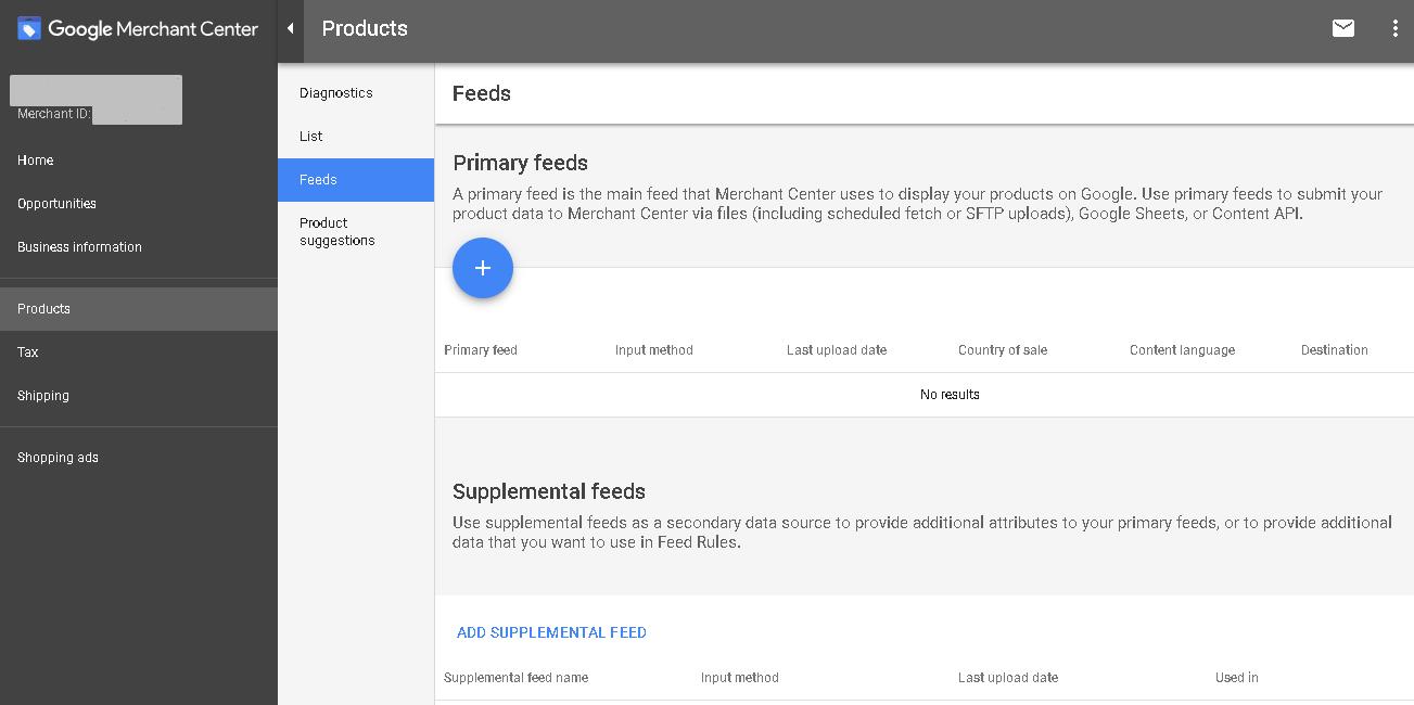 Create Google Product Feed