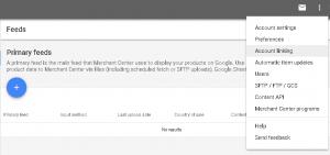 Link to Google Merchant Center
