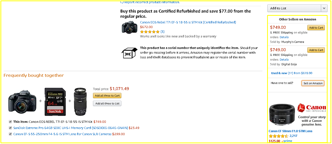 Amazon Brand Ads