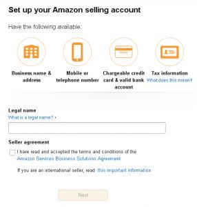 Start with Amazon Ads