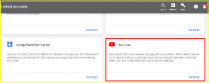 Link Youtube to Google Ads