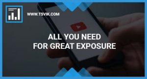 Youtube for Great Exposure