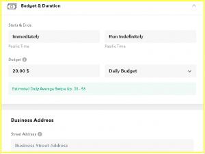 Snapchat Ads Budget