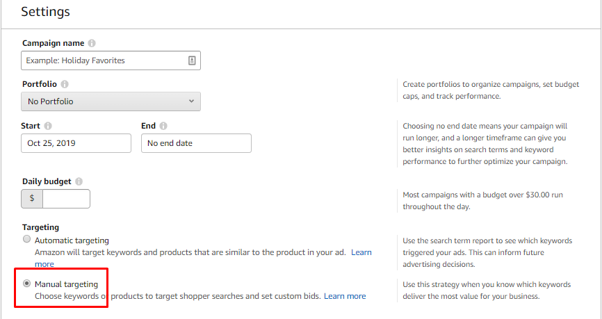 Amazon Ads Campaign Management Tools
