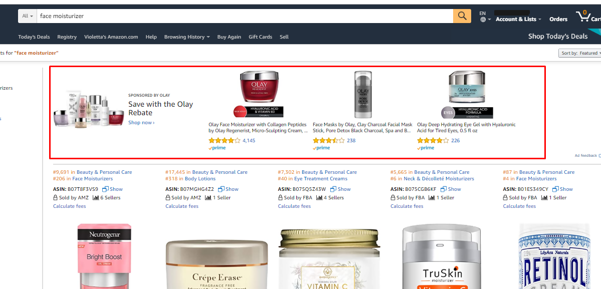 Amazon Headline Campaigns