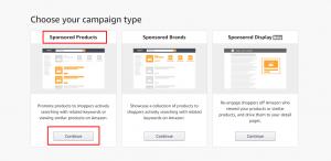 Amazon Campaign Set Up