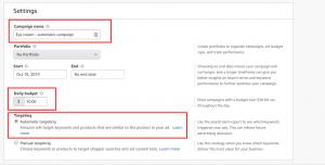 Amazon Automatic Targeting